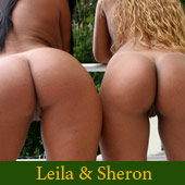 Brazilian Pornstars Leila & Sheron