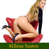Milena Santos - Brazilian Pornstar