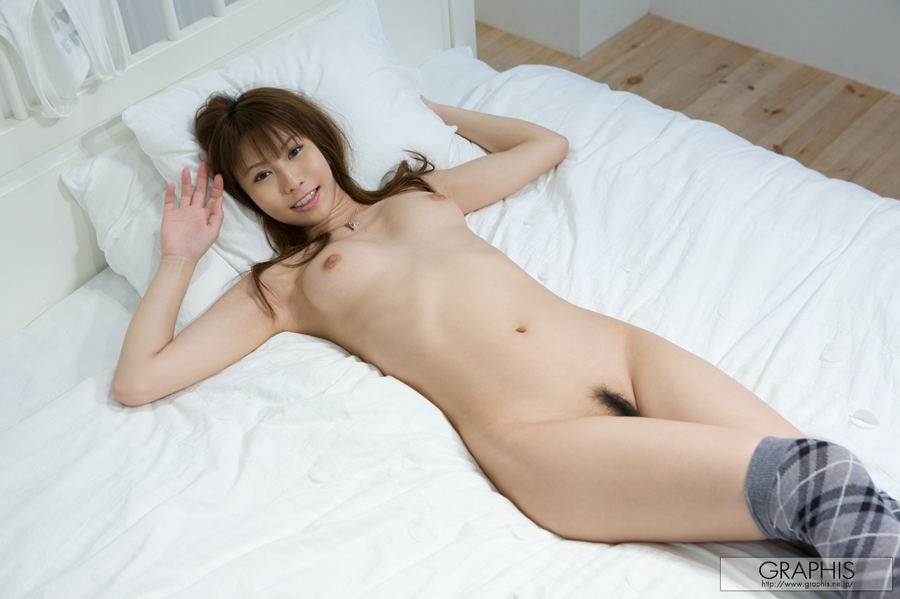 nude japanese woman from behi