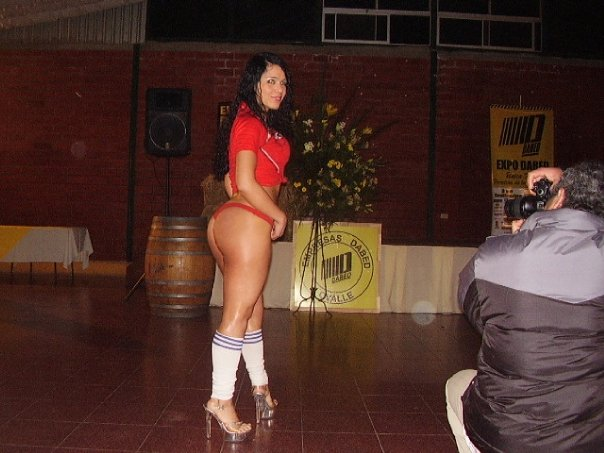 Terrible stripper chilena !