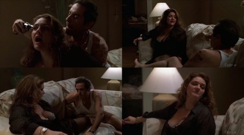 Aida Turturro in a non nude video from Sopranos - Season 2.