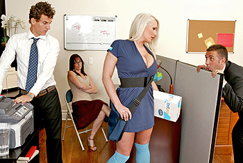 Big Tits In Uniform - Sadie Swede
