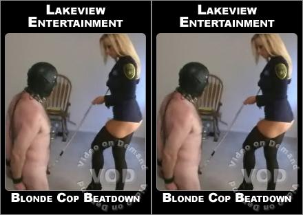 Blonde Cop Beatdown  Femdom