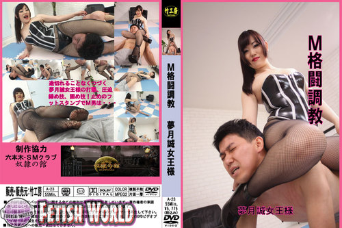 A-23 M Fight Discipline. Mistress Mutsuki Makoto Asian Femdom