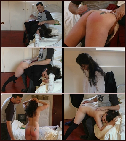 Jasmin's Wrong Knickers  Spanking