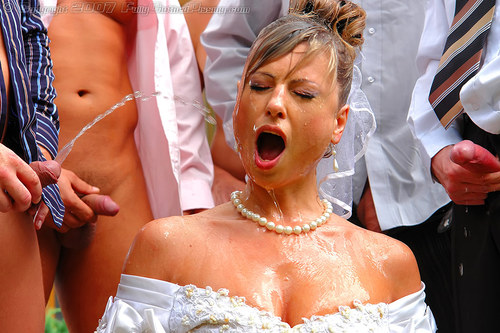 Bride Piss Fully Clothed Fuck