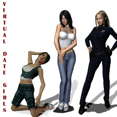 Collection games Virtual date Girls [uncen] [2009-2011] [eng]