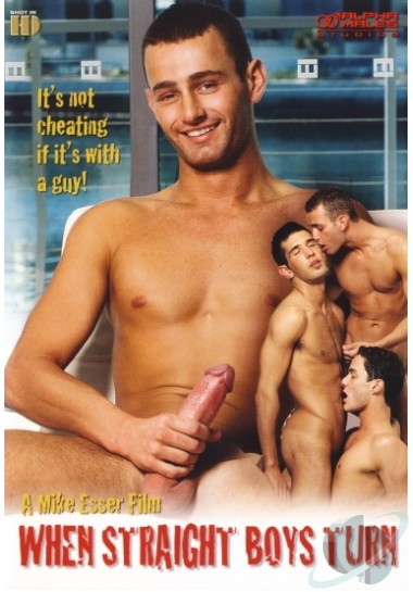 Alpha Males - When Straight Boys Turn Cover