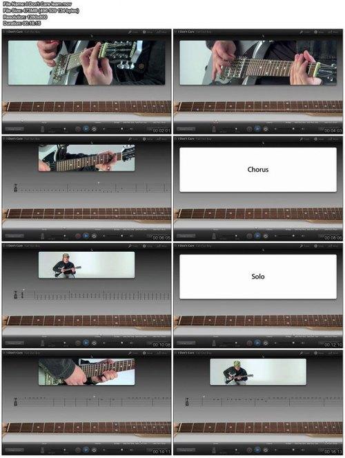Garageband Artist Lesson - Fortunate Son - John Fogerty for Mac