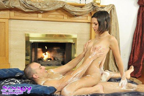 "Soapy Massage - Rihannon Sky ""Girlfriend Expernice"""