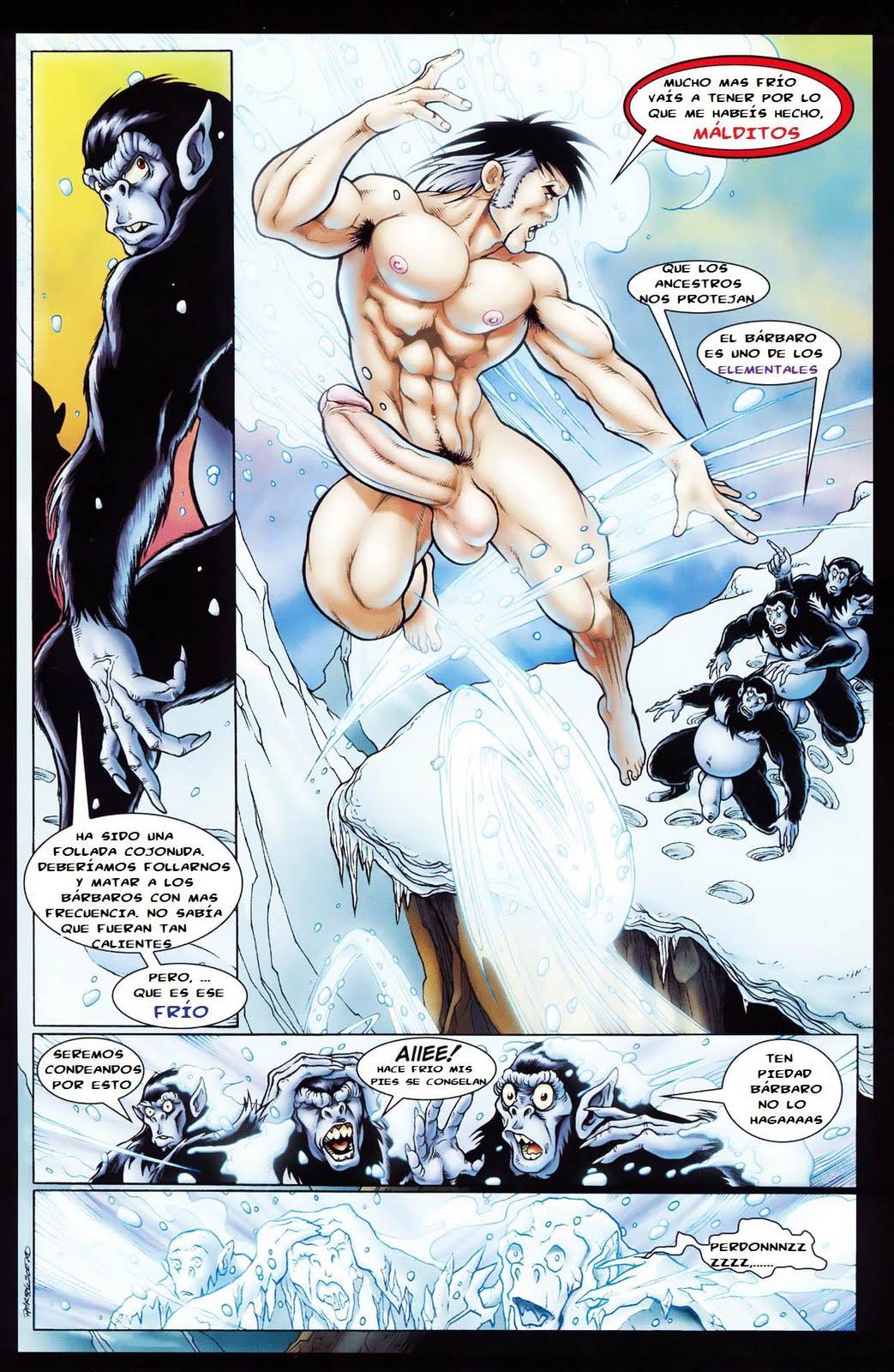 Zahn, hijo del viento (comic español color)