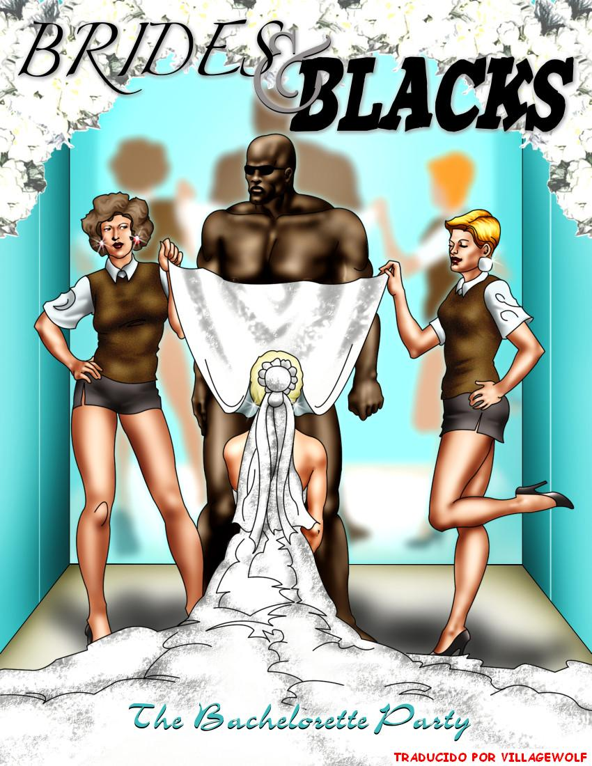 Novias y negros I, II y III(comics español color)