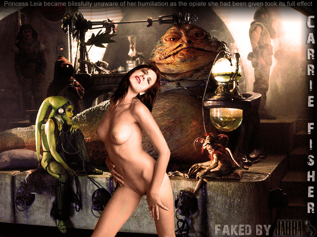 Carrie fisher princess leia slave nude